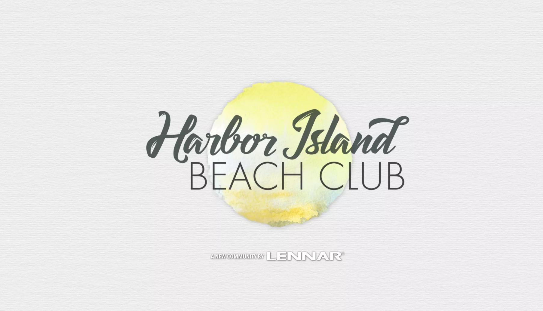 Harbor Island Beach Club Lennar Logo